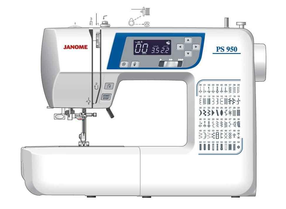 Швейная машина Janome PS-950 цена