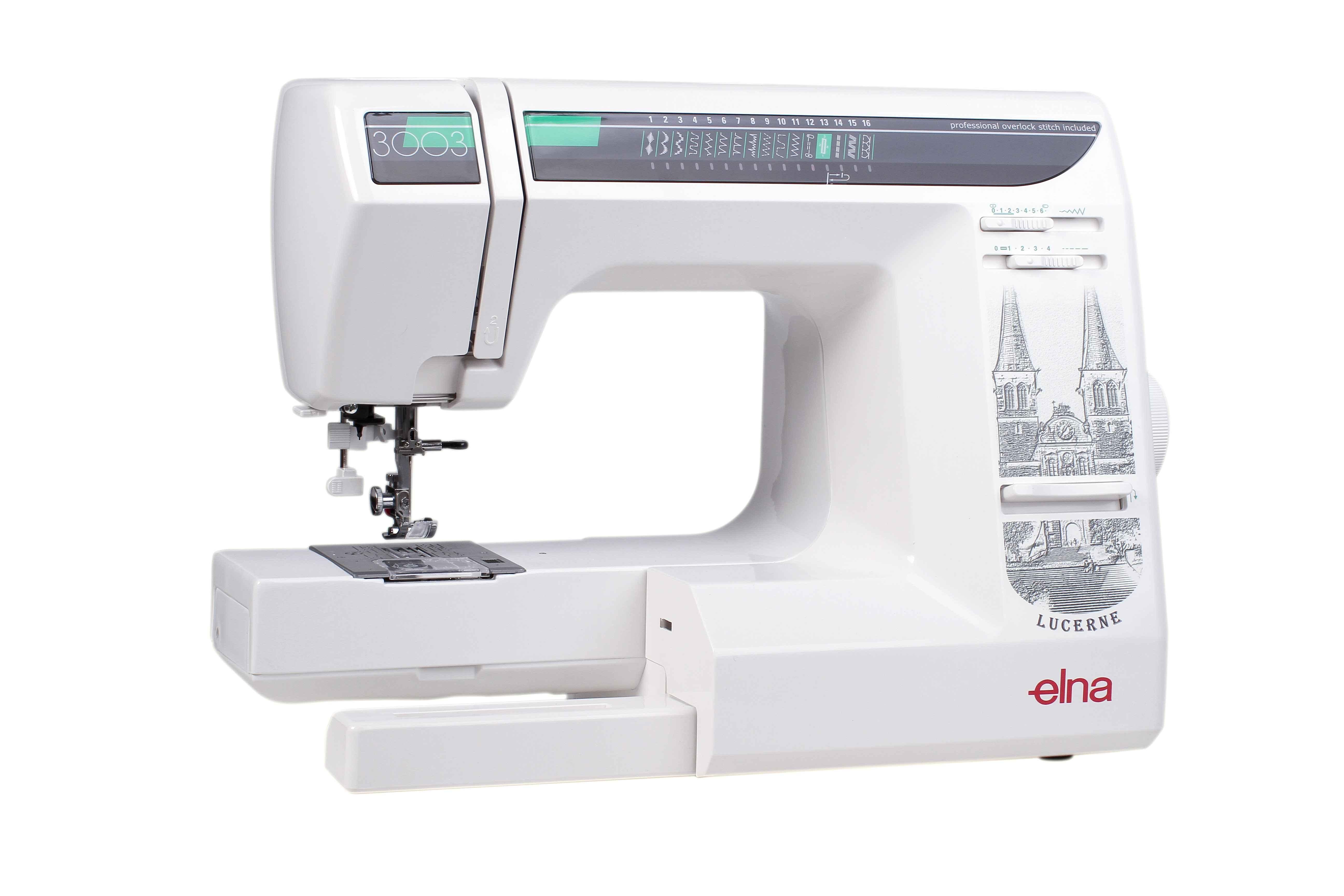 Швейная машина Elna 3003 ароматизатор новая машина
