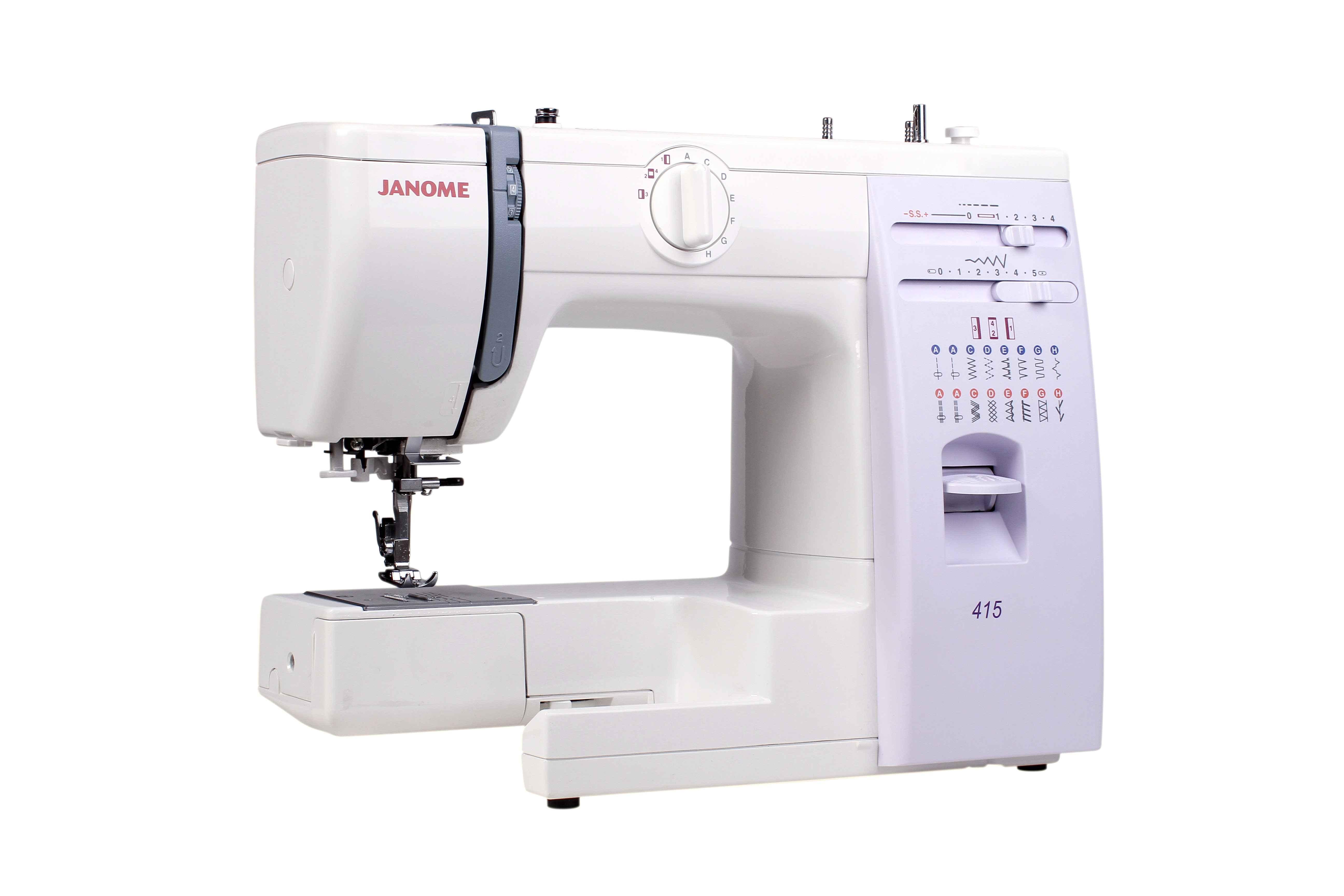 Швейная машина Janome 5515 / 415 швейная машина janome 415 415
