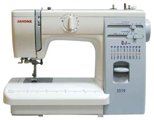 Швейная машина Janome 5519 / 419s цена