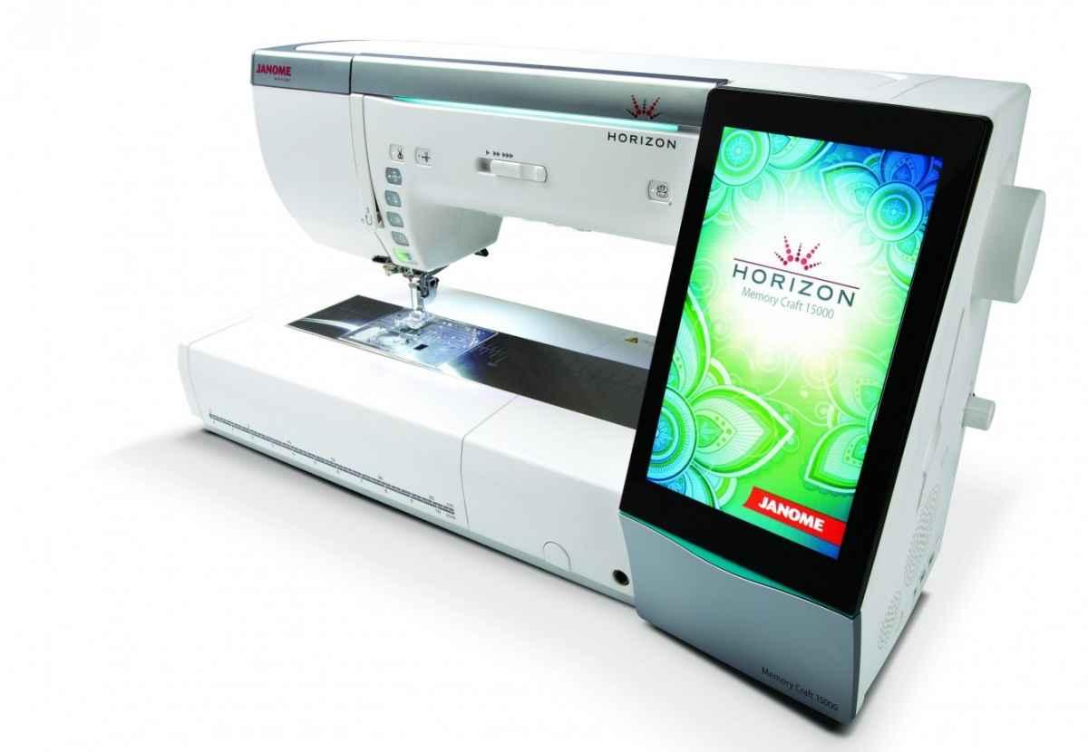 Швейно-вышивальная машина Janome memory craft 15000 (MC 15000) janome memory craft 5200