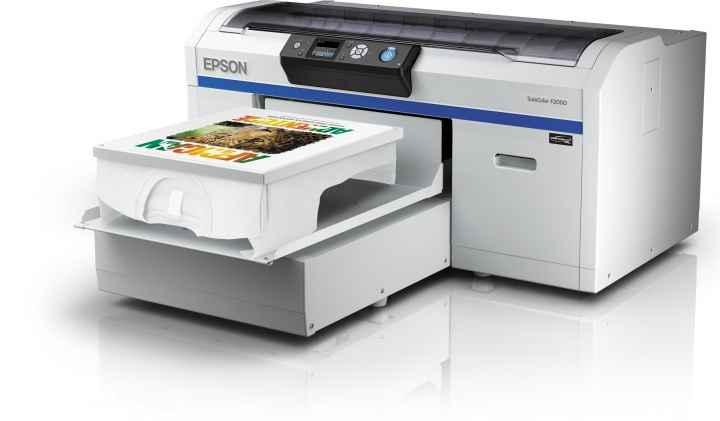 Epson SureColor SC-F2000 (4 цвета) на светлых тонах принтер epson surecolor sc p9000 std c11ce40301a0