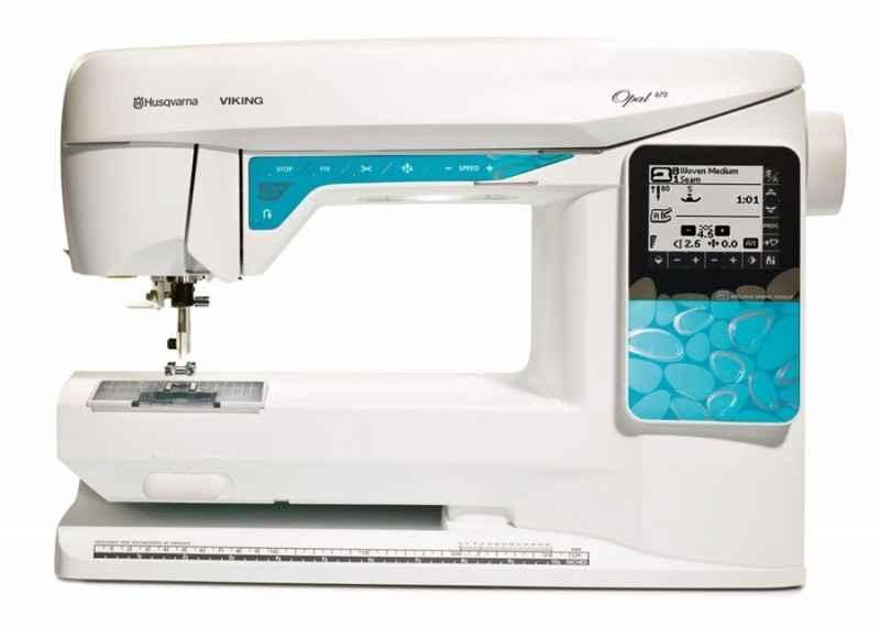 Швейная машина Husqvarna Opal 670 швейная машина husqvarna opal 690q