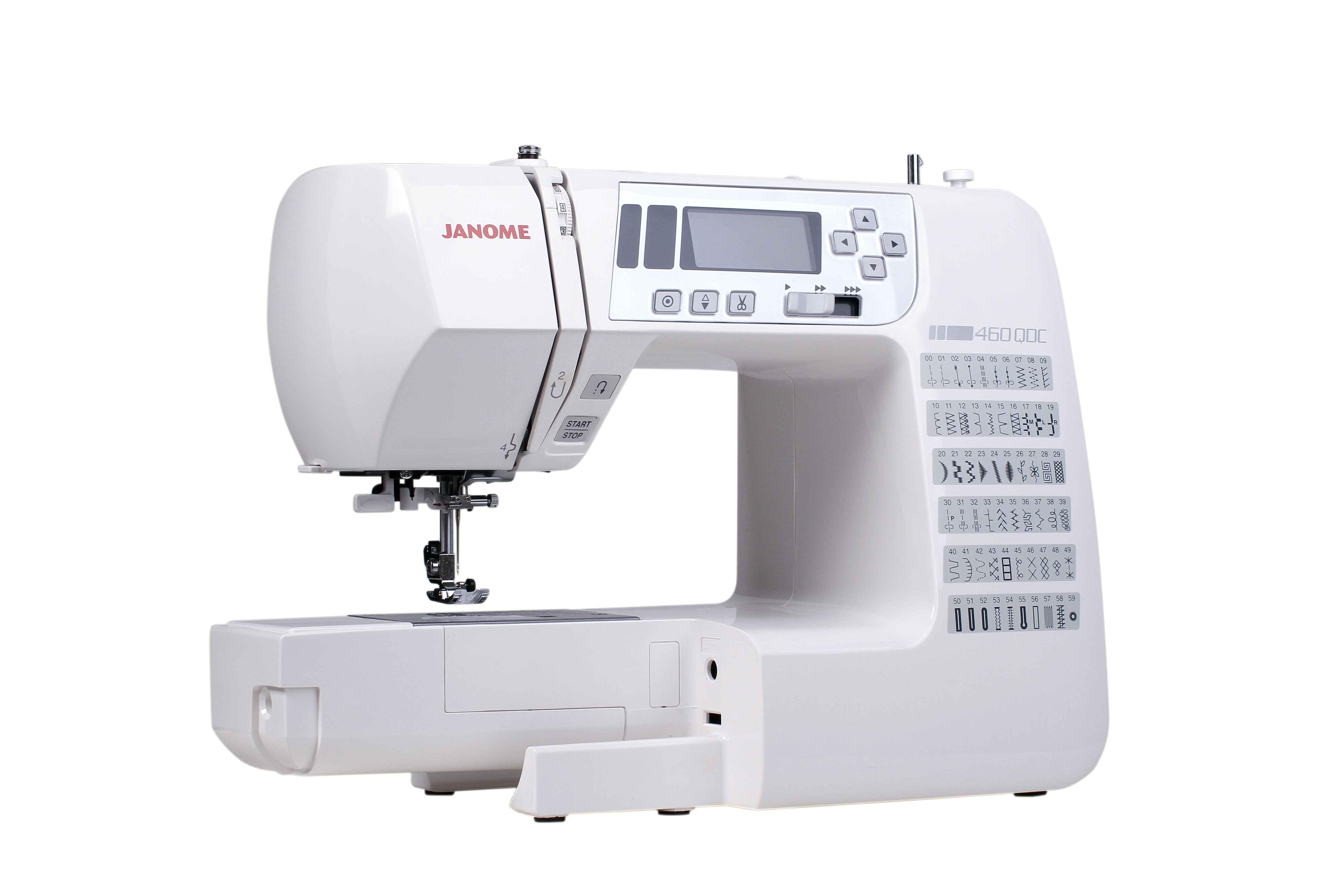 Швейная машина Janome 460 QDC швейная машина janome 460 qdc