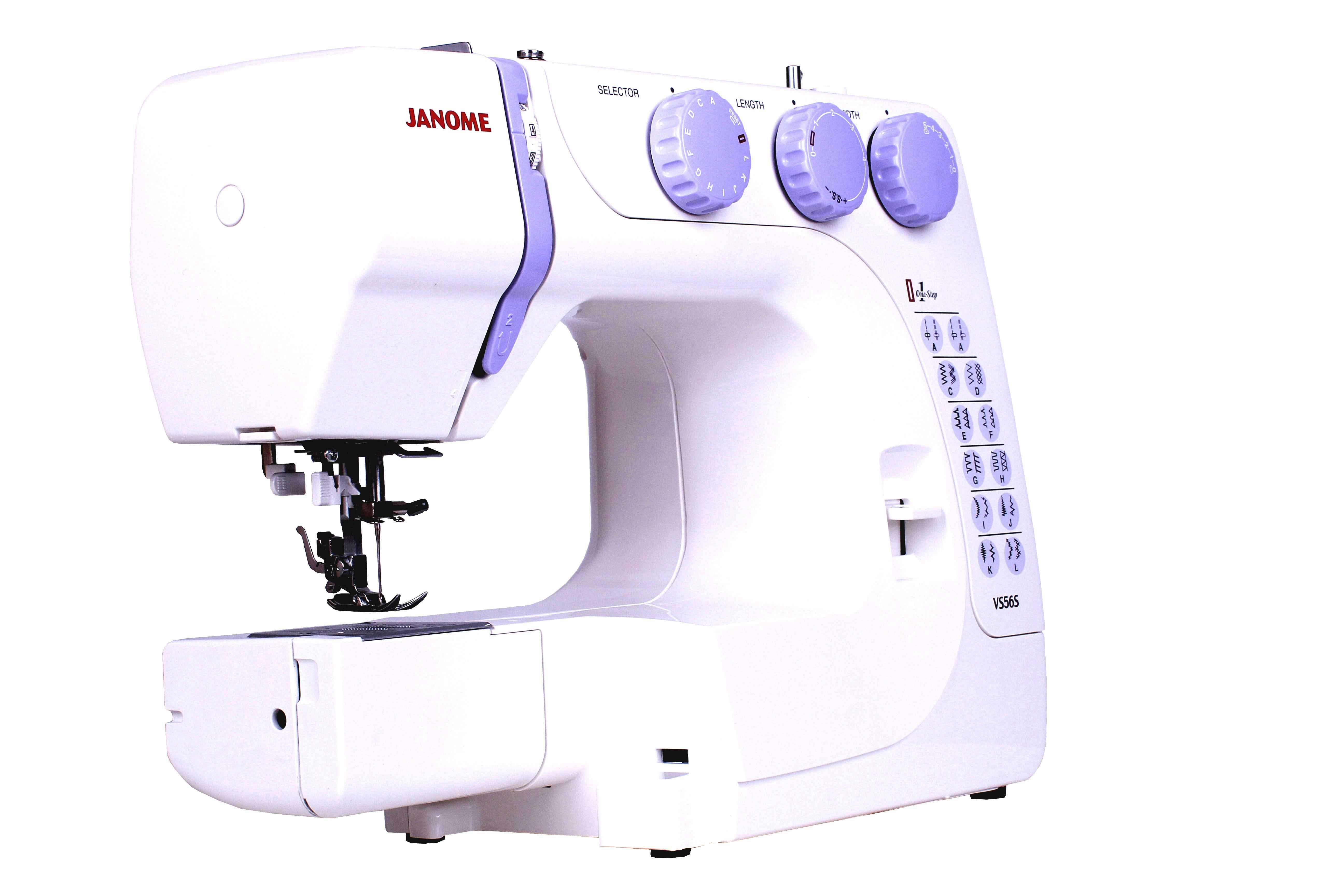 Швейная машина Janome VS 56 электромеханическая швейная машина vlk napoli 2100