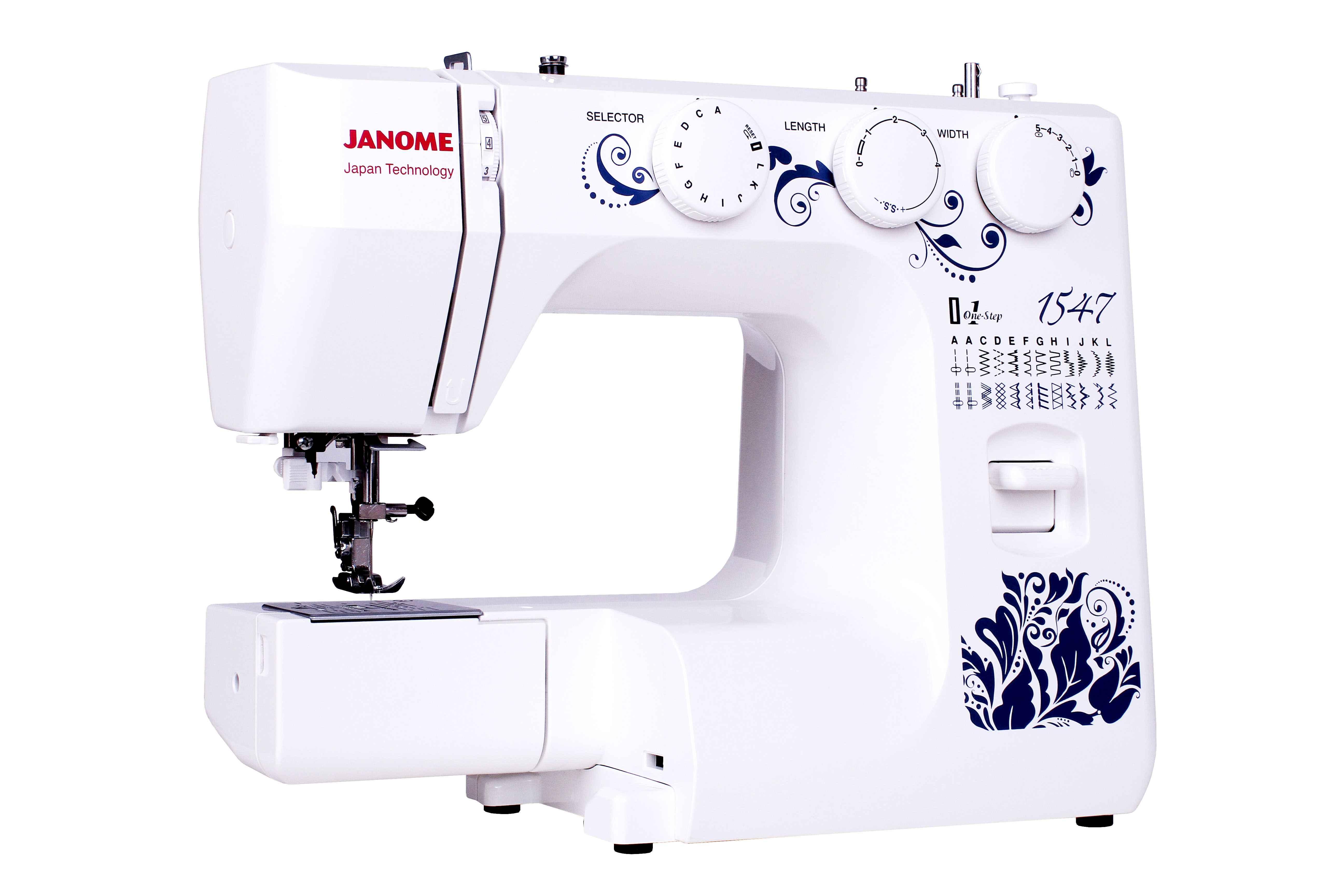 Швейная машина Janome 1547 швейные машины minerva швейная машина a819b