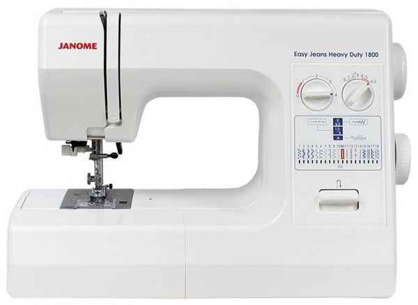 Швейная машина Janome Easy Jeans Heavy Duty 1800