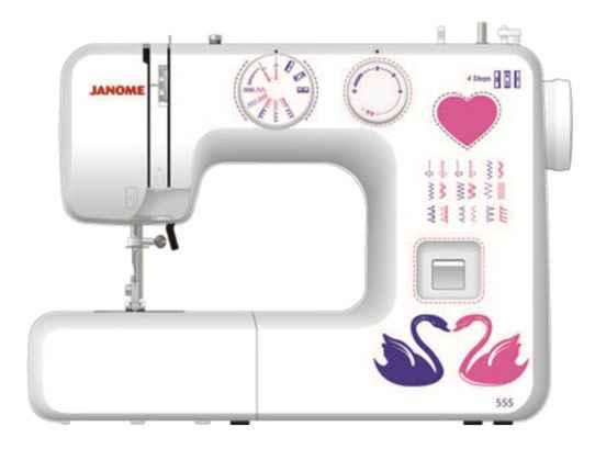 Швейная машина Janome 555 janome 555