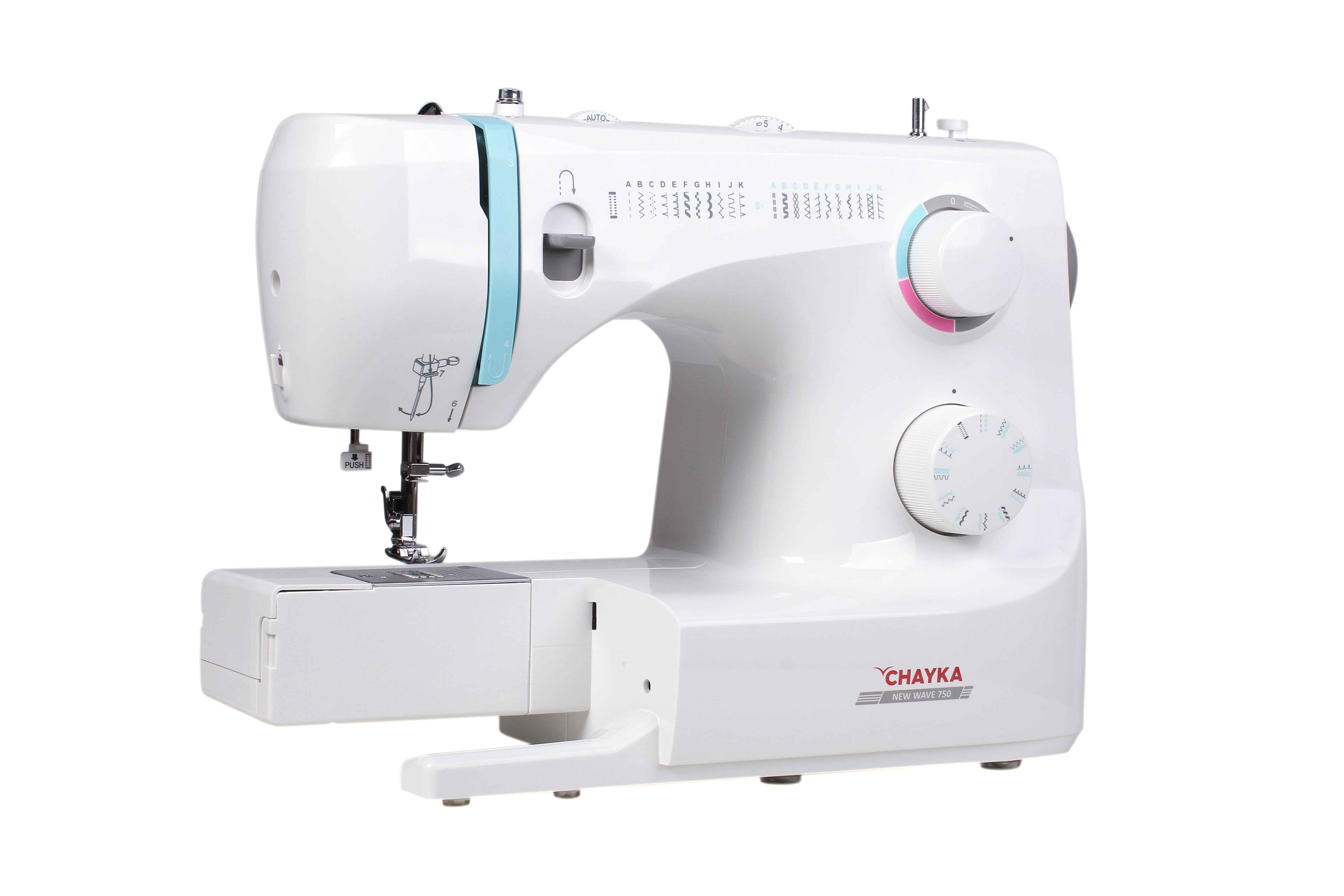 Швейная машина Чайка New Wave 750