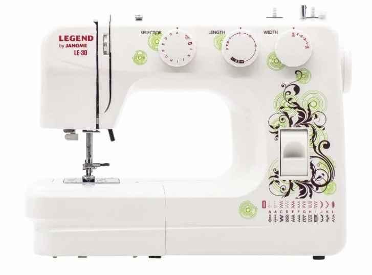 Швейная машина Janome Legend LE-30 швейная машинка janome legend le 25
