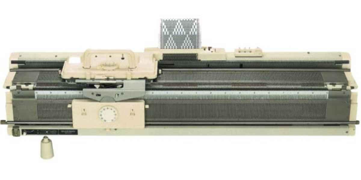 Двухфонтурная вязальная машинка Silver Reed SK280/SRP60N