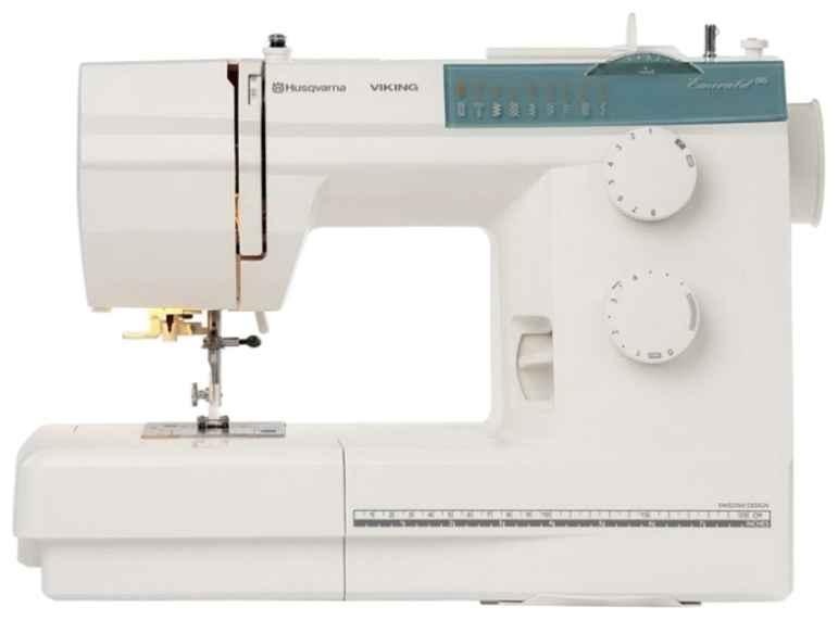 Швейная машина Husqvarna Emerald 116 швейная машина husqvarna opal 690q