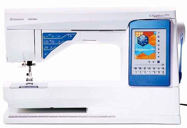 Швейная машина Husqvarna Viking Sapphire 960 Q швейная машина husqvarna opal 690q