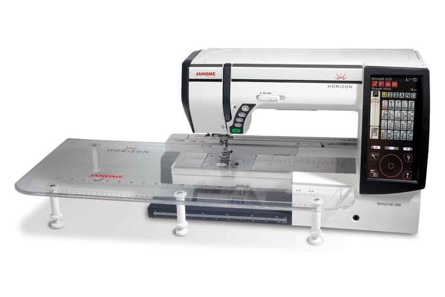 Швейно - вышивальная машинка Janome Memory Craft 12000 janome memory craft 5200