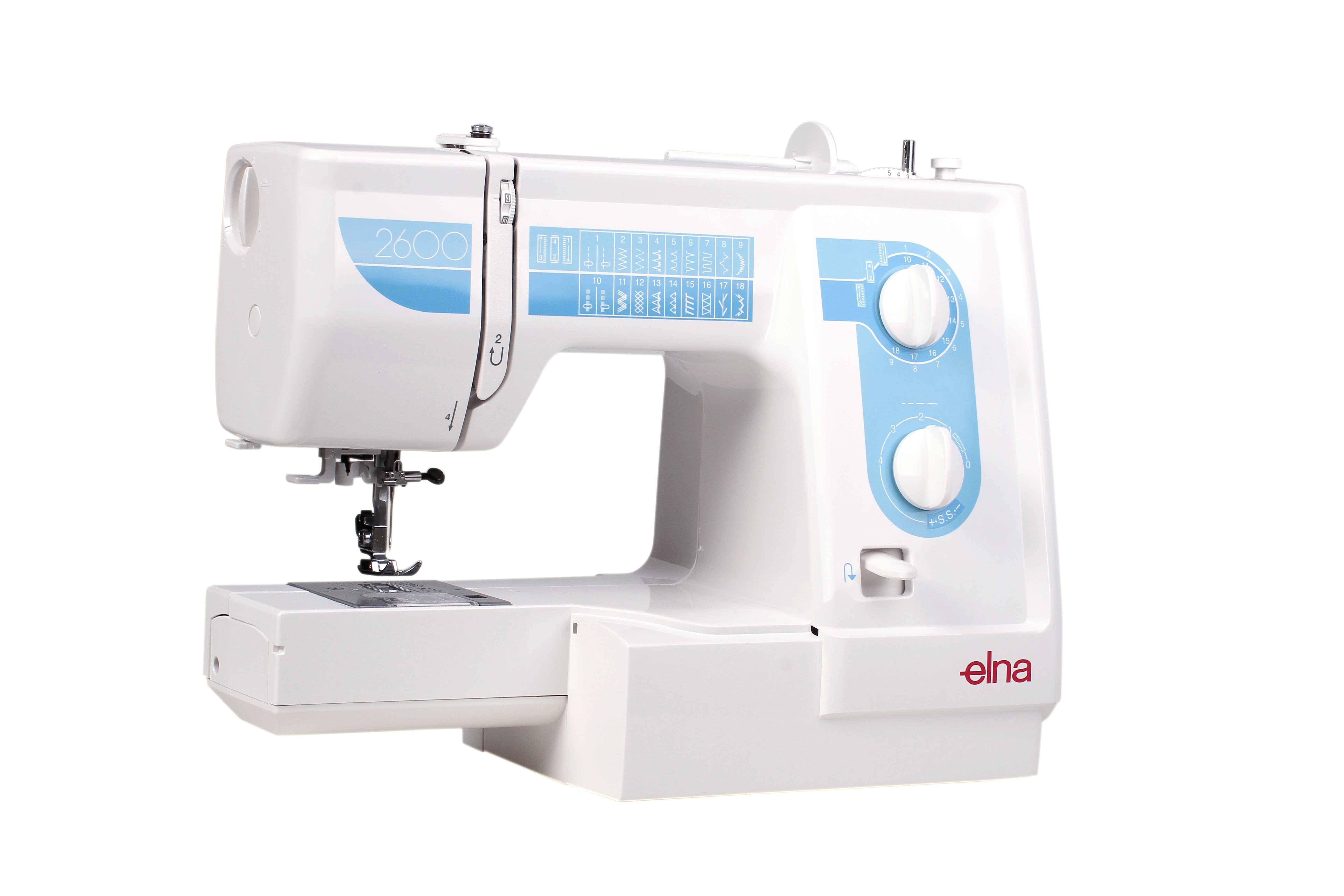 Швейная машина Elna 2600 каталог montblanc