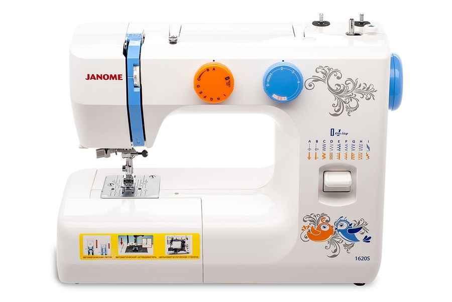 Швейная машина Janome 1620S швейная машинка janome 1620s белый