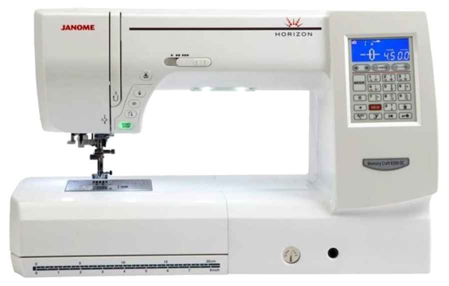 Швейная машина Janome Memory Craft 8200 QC Horizon horizon qc s30
