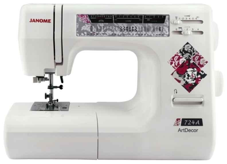 Швейная машина Janome ArtDecor 724A швейная машинка janome dresscode