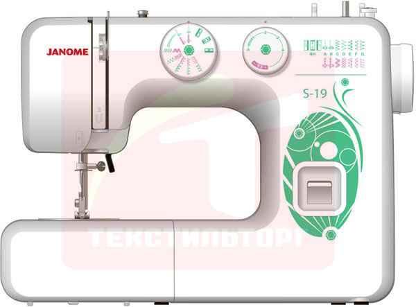 Швейная машина Janome S-19 швейная машинка janome se522 525 s white