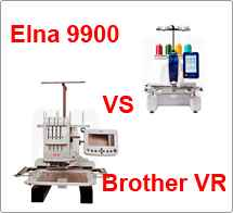 Тест драйв №43 Elna 9900 vs Brother VR