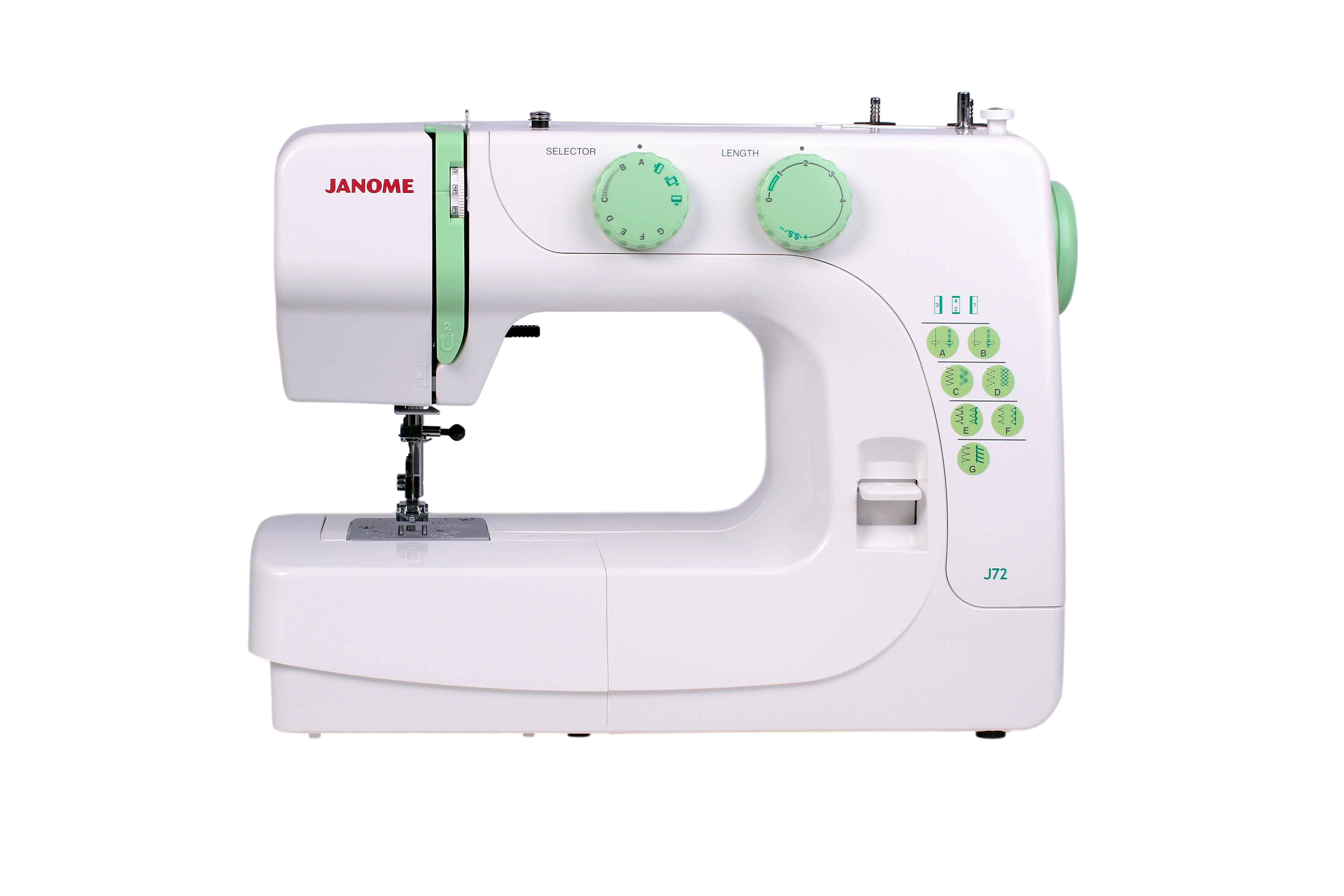 Швейная машина Janome J72 юбки