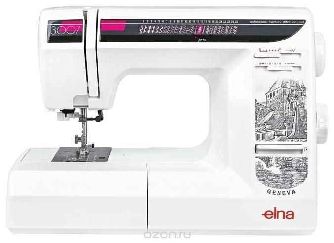 Швейная машина Elna 3007 ароматизатор новая машина