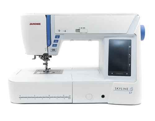 Швейная машина Janome Skyline S7 швейная машина janome skyline s3