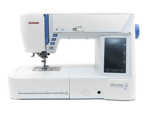 Швейная машина Janome Skyline S7 швейная машинка janome skyline s3 белый
