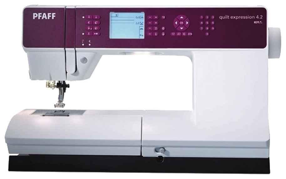Швейная машина Pfaff Quilt Expression 4.2 швейная машина pfaff smarter 140s