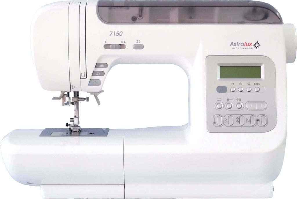 Компьютеризированная швейная машина AstraLux 7150 швейная машинка astralux blue line ii