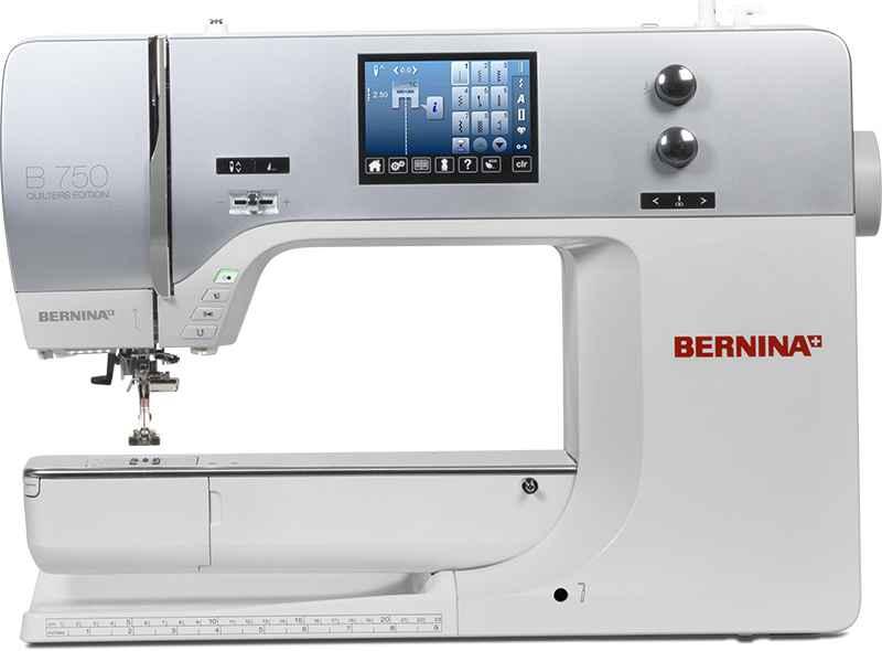 Швейно-вышивальная машина Bernina 750 QE с вышивальным блоком цены