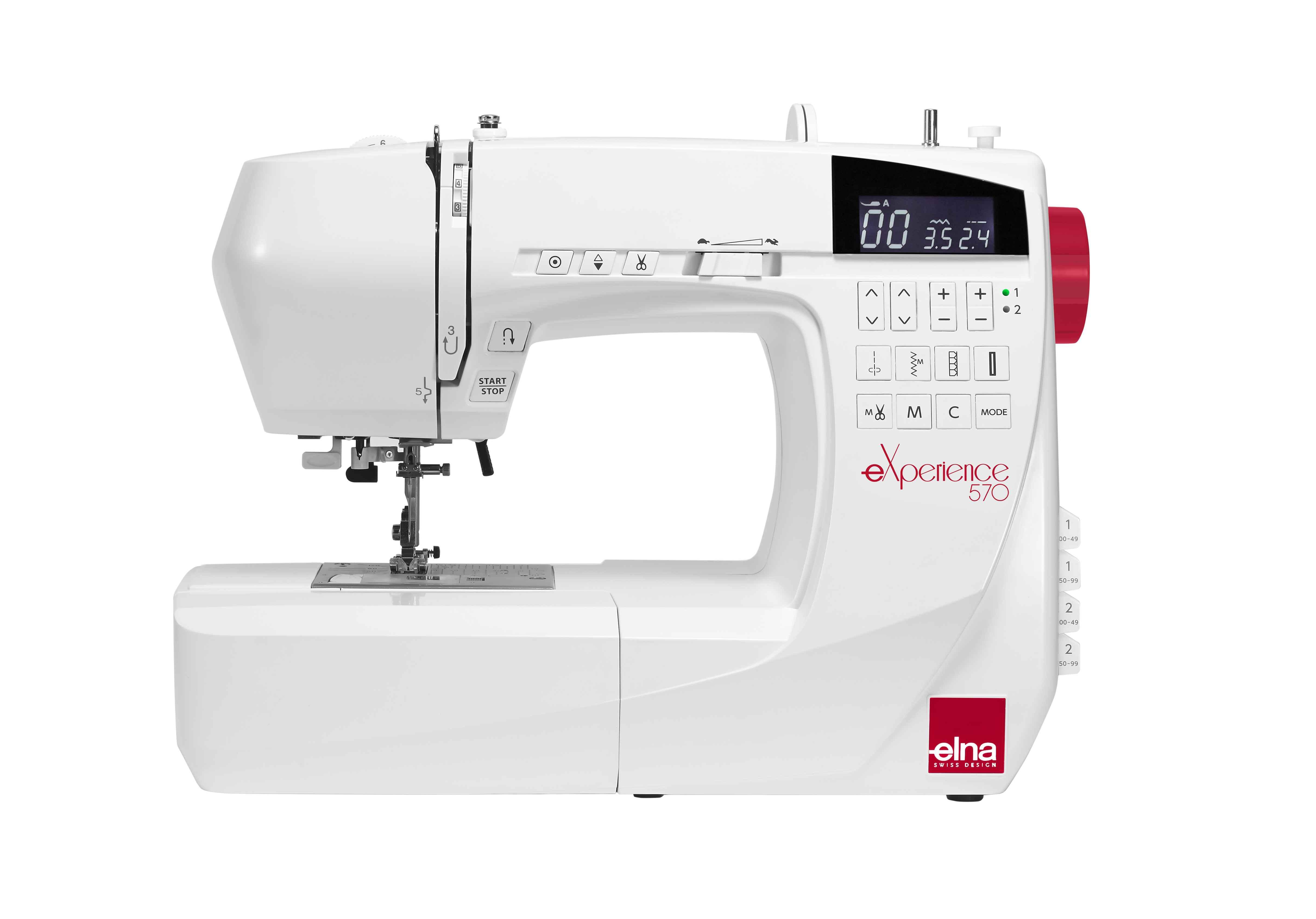 Швейная машина Elna 570 eXperience бицепс машина impulse it9503 200