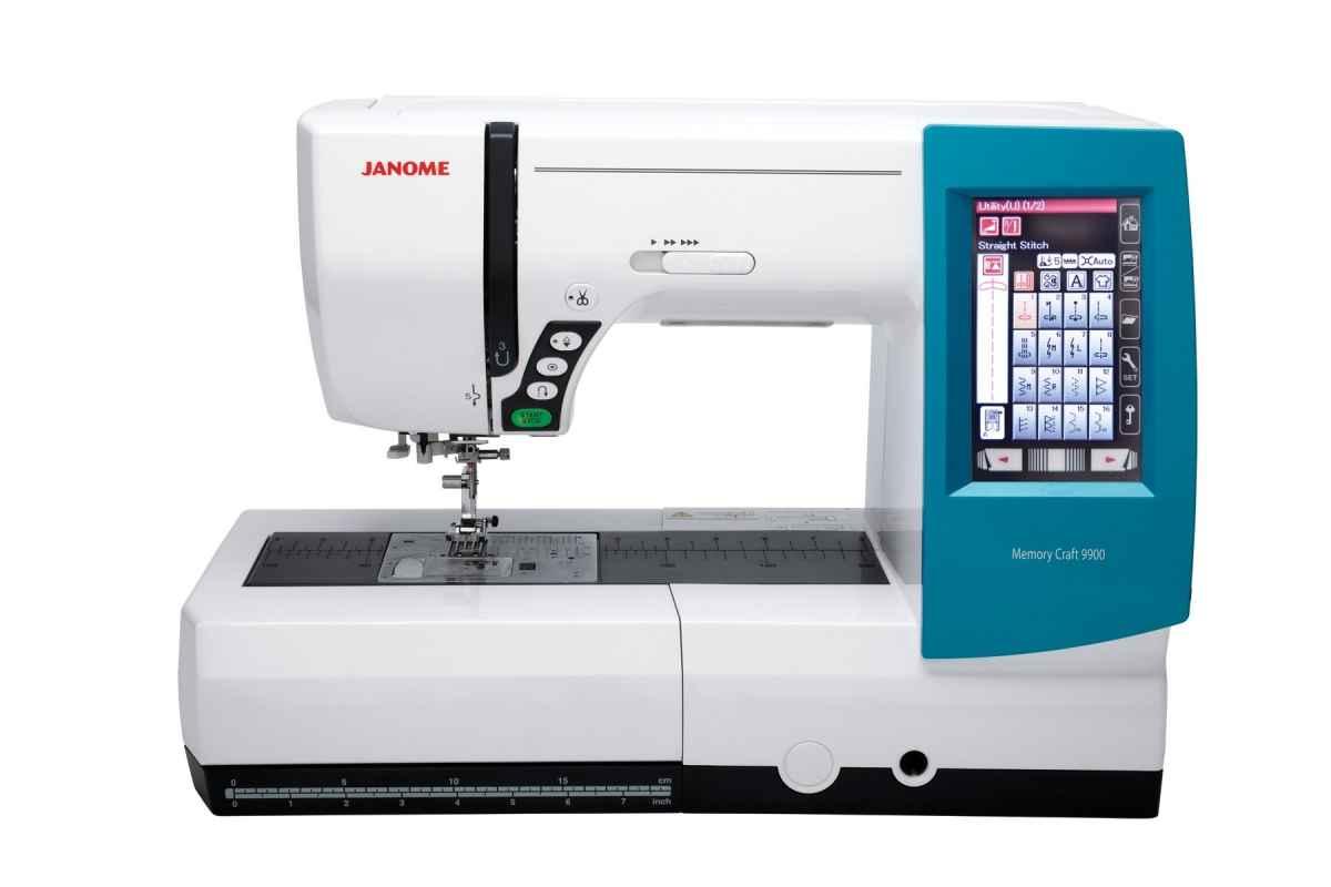 Швейно-вышивальная машина Janome Memory Craft 9900 (MC 9900) janome memory craft 5200