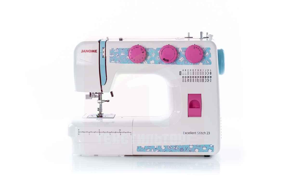 Швейная машина Janome Excellent Stitch 23 (ES 23) ароматизатор новая машина