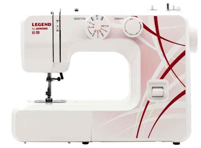 Швейная машина Janome Legend LE-20 швейная машинка janome legend le 25