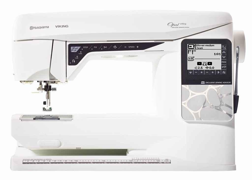 Швейная машина Husqvarna Opal 690Q швейная машина husqvarna opal 690q