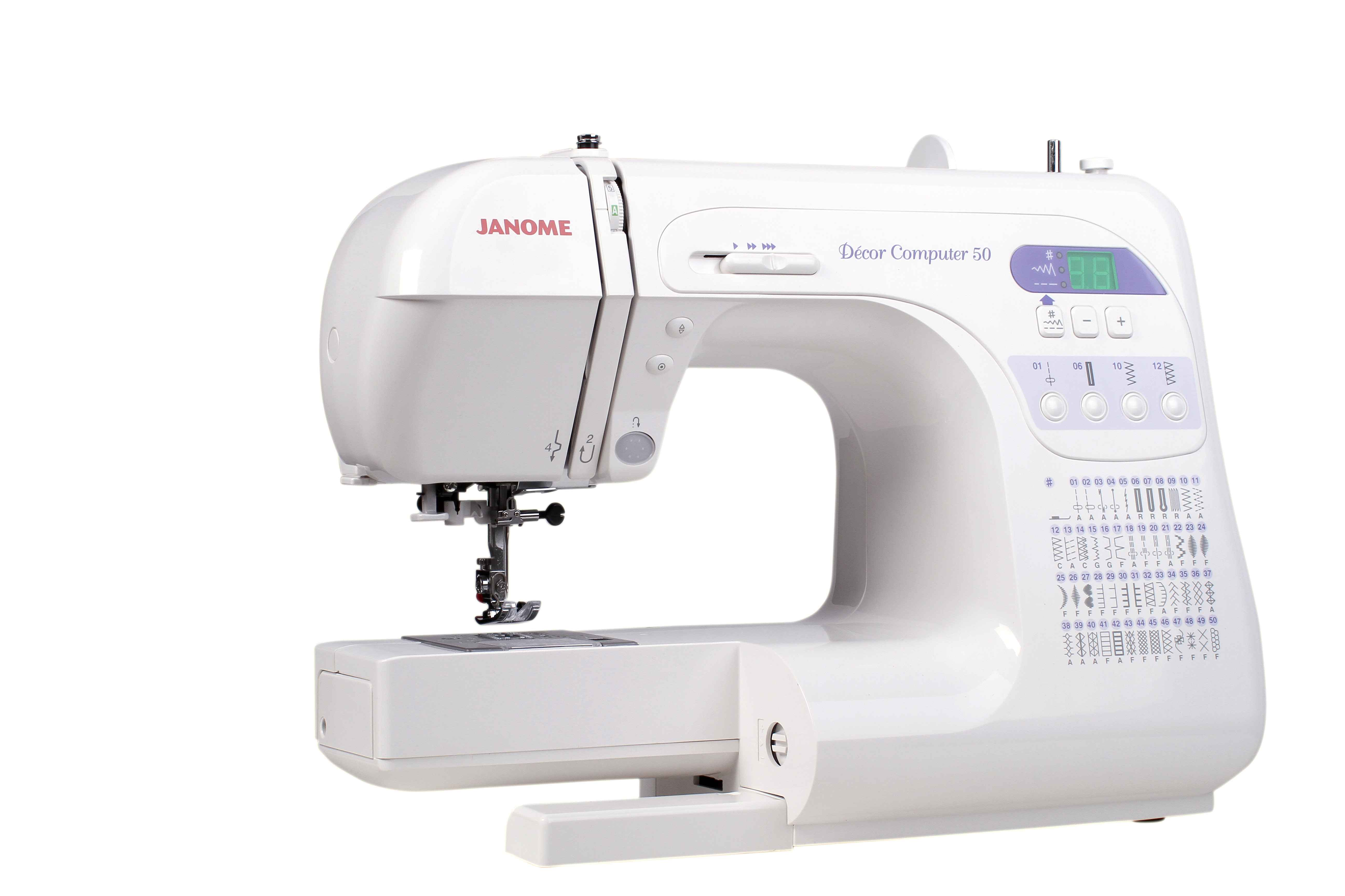 Швейная машина Janome DC 3050 / DC50 (жёсткий чехол) цена
