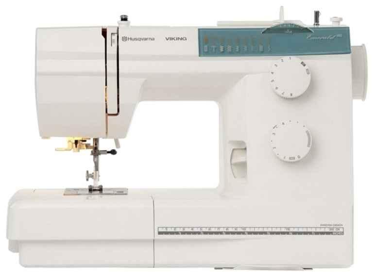 Швейная машина Husqvarna Emerald 118 швейная машина husqvarna opal 690q