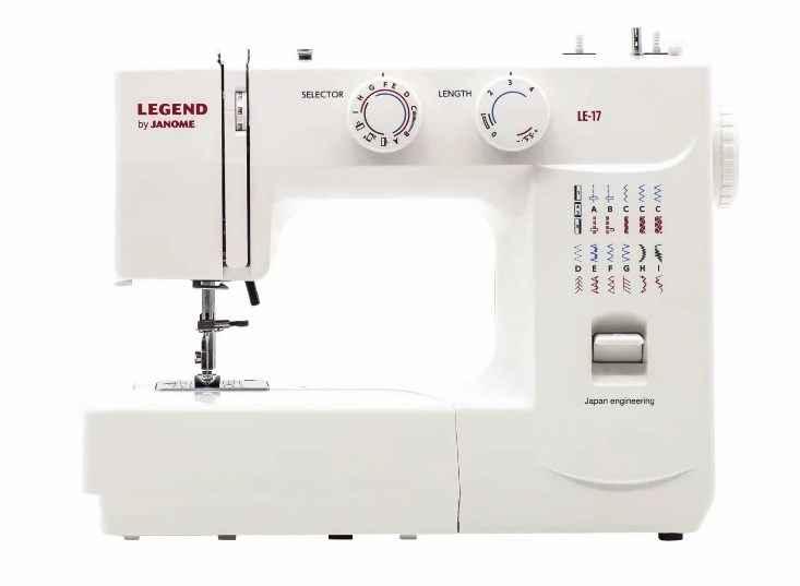 Швейная машина Janome Legend LE-17 janome legend le 15
