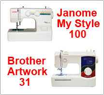 Тест драйв №44 Janome My Style 100 vs Brother Artwork 31